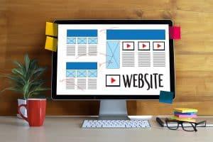website homepage ideas